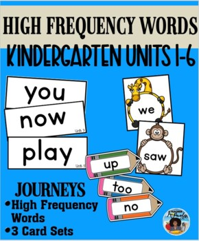 Journeys Kindergarten Sight Words