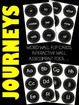 Journeys Kindergarten Sight Words-88 words