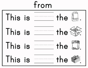 Journeys Kindergarten Sight Words: Lesson 17 Common Core Edition