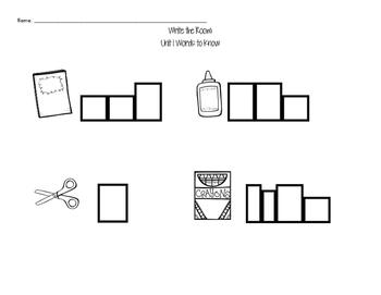 Journeys Kindergarten Sight Words: Read & Write the Room 2014 Edition