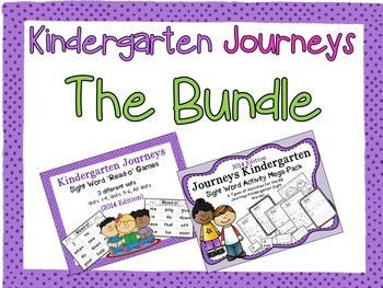 Journeys Kindergarten Sight Words - The Bundle!