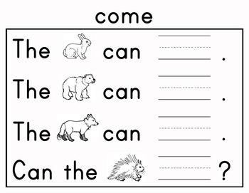 Journeys Kindergarten Sight Words: Unit 3 2012 and 2014 Common Core Edition