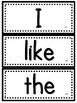 Journeys Kindergarten Sight Words Units 1-6