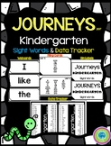 Journeys Kindergarten Sight Words Wall Cards & Data Trackers - 2017