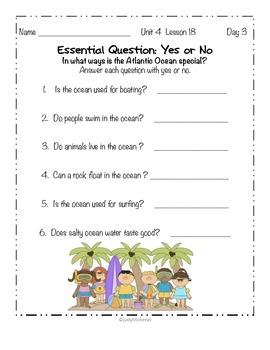 Journeys -Kindergarten Skill Support-Unit 4 Lesson 18