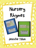Nursery Rhymes Student Book and Literacy Centers