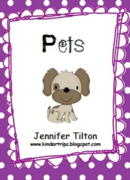 Pets Literacy Unit and Literacy Centers
