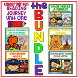 Take a Reading Journey Kindergarten Unit 1 NO PREP Printable BUNDLE Lessons 1-5
