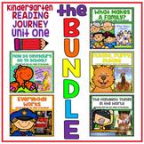 Distance Learning Take a Reading Journey Kindergarten Unit 1 NO PREP BUNDLE