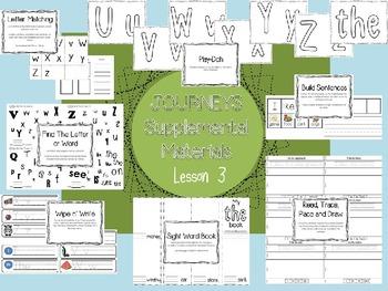 Journeys - Kindergarten Unit 1 - Supplemental Materials