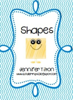 Shapes Literacy Unit and Literacy Centers