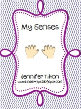 My Senses Literacy Unit and Literacy Centers