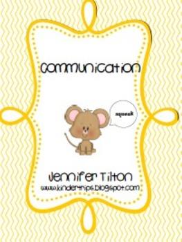 Communication Literacy Unit and Literacy Centers