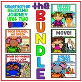 Take a Reading Journey Kindergarten Unit 2 NO PREP Printable BUNDLE Lessons 6-10