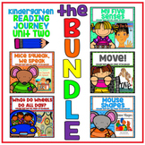 Take a Reading Journey Kindergarten Unit 2 NO PREP Printable BUNDLE Lessons 6-10