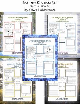 Journeys Kindergarten Unit 3 Homework & Classwork by ...