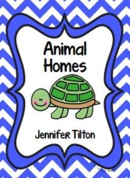 Animal Homes Literacy Unit and Literacy Centers