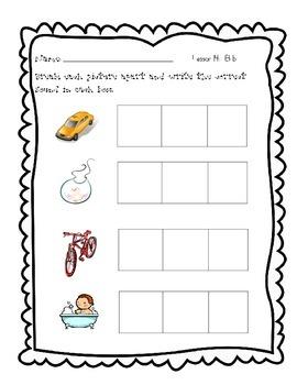 Journeys, Kindergarten, Unit 3 Phoneme segmentation