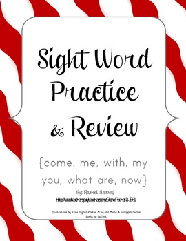 Journeys Kindergarten Unit 3 Sight Word Practice