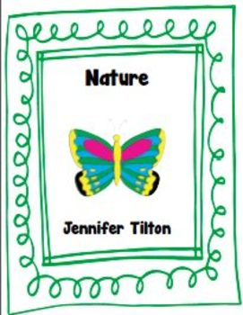 Nature Literacy Unit and Literacy Centers
