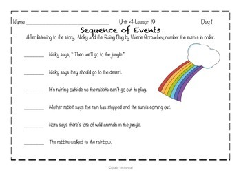Journeys Kindergarten - Unit 4 Lesson 19