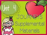Journeys - Kindergarten Unit 4 - Supplemental Materials