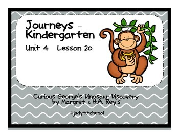 Journeys-Kindergarten  Unit 4 lesson 20