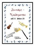 Journeys-Kindergarten    Unit 5 Lesson 21