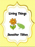 Living Things Literacy Unit and Literacy Centers