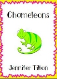 Chameleons Literacy Unit and Literacy Centers