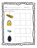 Journeys, Kindergarten, Unit 5 Phoneme segmentation