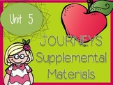 Journeys - Kindergarten Unit 5 - Supplemental Materials