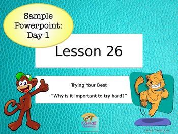 Journeys Kindergarten Unit 6: Lesson 26 Powerpoint {Sample for Day 1}