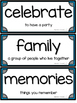 Journeys Kindergarten Vocabulary Cards- Oral & Selection A