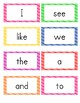 Old Version of Journeys Kindergarten Word Wall Word Cards