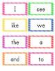 Journeys Kindergarten Word Wall Word Cards