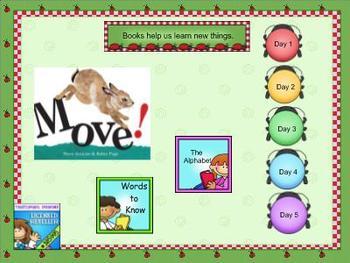Journeys Kindergarten smartboard Unit 2 Lesson 8