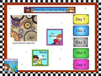 Journeys Kindergarten smartboard Unit 2 Lesson 9