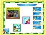 Journeys Kindergarten smartboard lesson Unit 3 Lesson 13