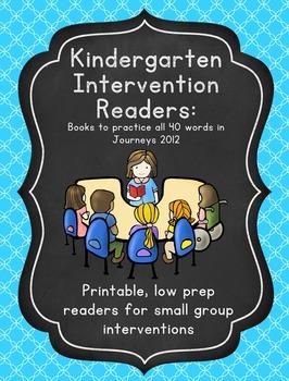 Journeys Kindergarten Supplemental Intervention Sight Word