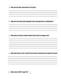 "Journey's ""LAFFF"" Comprehension & Vocabulary Worksheet"
