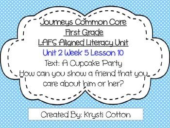Journeys LAFS Aligned Literacy Unit Unit 2 Week 5 (Lesson