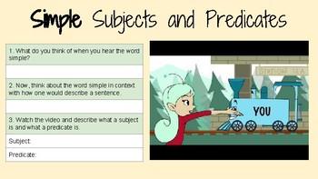 Journeys Lesson 1 Grammar