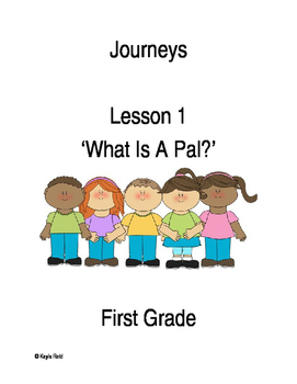 Journeys Lesson 1 Packet