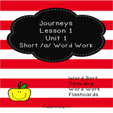 Journeys Lesson 1 Unit 1 Spelling Word Work