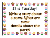Journey's 1st Grade Lesson 10 A Cupcake Party Powerpoint