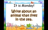 Journey's 1st Grade Lesson 11 At Home in the Ocean PowerPoint