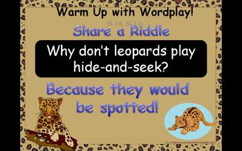 Journey's 1st Grade Lesson 12 How Leopard Got His Spots Po