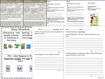 Journeys Lesson 12 Violet's music resources