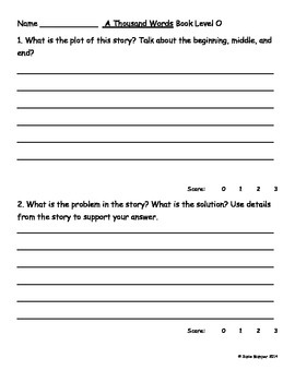 Journeys Lesson 12 Written Comprehension for guided reading & selection
